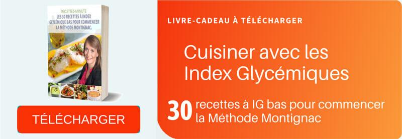 30 recettes Montignac à IG bas
